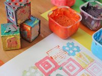Babble Dabble Do Self-made Stamp and Stamp Pad