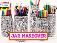 youtube Mark Montano Colouring Book Jars